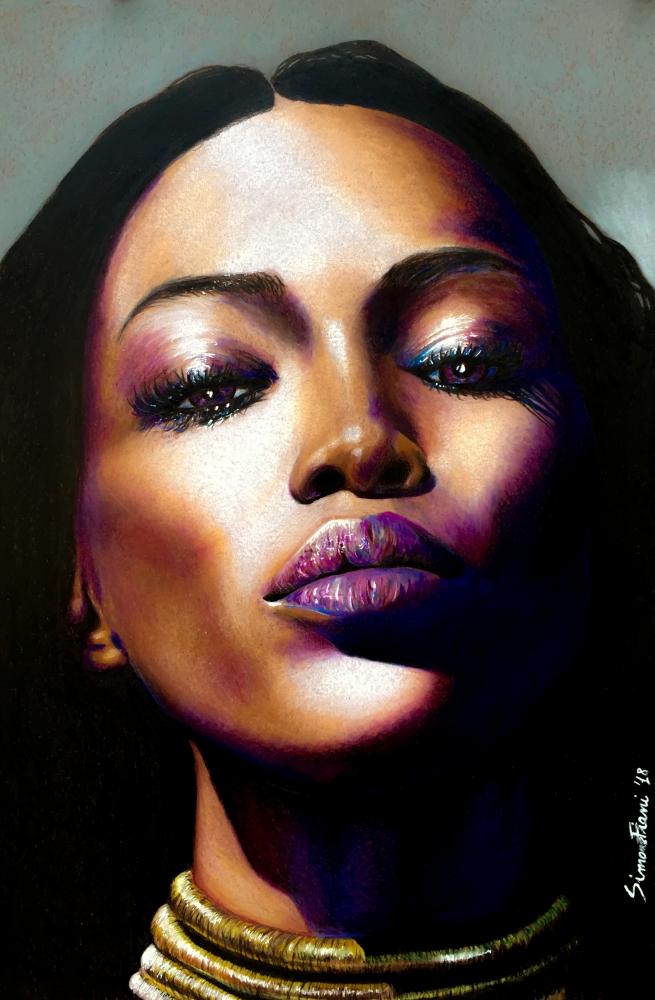 Naomi Campbell by simoflame
